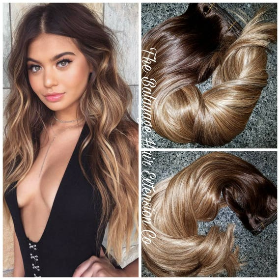 Balayage Remy Clip In Extensions 220 Grams 22 Inches Sale