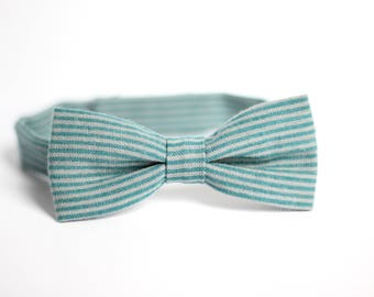 boys bow tie, kids bow tie, toddler bow tie, striped bow tie, bow tie for kids