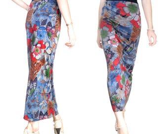 Wool Jersey (M70) long skirt