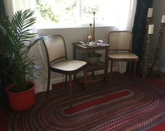 Pair of Vintage Stendig Cane Chairs (Local P/U Only)