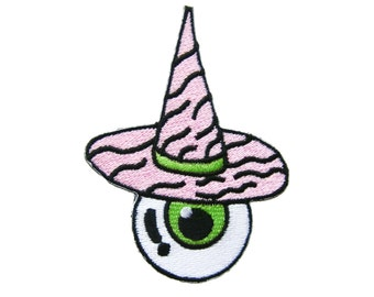 Geen Eye Eyeball Patch Eye Iron on Patch Applique Iron on Patch