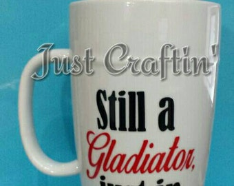 Custom latte mug