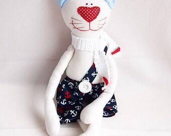 """Stuffed animal, stuffed animal cat """"Tommi"""""""