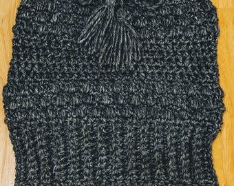 3 in 1 - Hat / Neck Warmer / Ponytail Hat