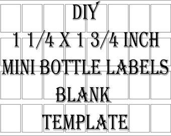liquor bottle label etsy. Black Bedroom Furniture Sets. Home Design Ideas