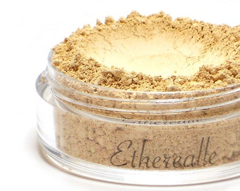 "Matte Highlighting Powder - ""Soft Sand"" (light beige for medium to deep skin tones, matte, Net Wt 4.5g jar) - Vegan"