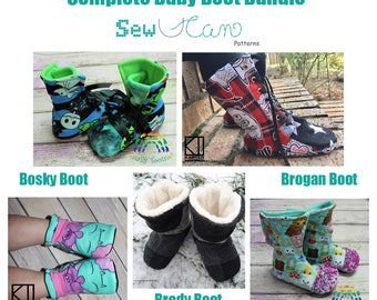Complete Baby Boot Bundle PDF 5 Patterns