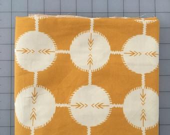 Anna Maria Horner Yellow Coordinate Dot OOP Cotton Fabric FQ