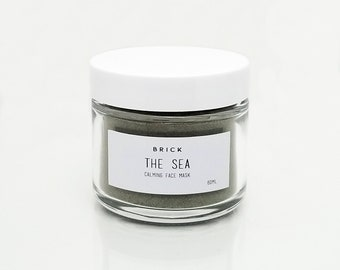 The Sea Organic Calming Face Mask by Brick Skincare