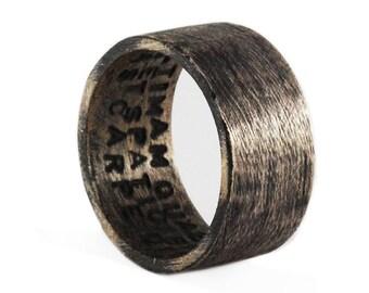 Mens Wedding Band Wedding Band Man Ring Rustic Wedding Band Rustic Ring Rustic Bronze Ring Wedding Ring Mens Wedding Ring Wedding Bands