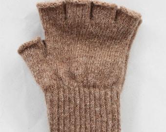 Alpaca Fingerless Gloves