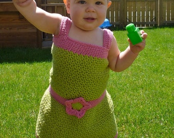 Selina Sundress/headband - Crochet PDF Pattern - INSTANT DOWNLOAD