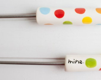 Sweet Stick: Mine - Campfire roasting stick for marshmallows, used to make s'mores