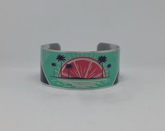 Tropical Sunrise Cuff Bracelet