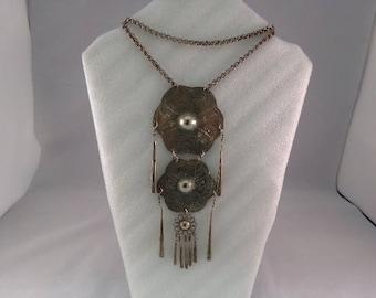 Alpaca Silver Vintage Tribal Necklace