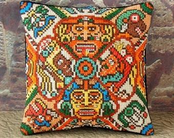 Aztec Art Mini Cushion Cross Stitch Kit