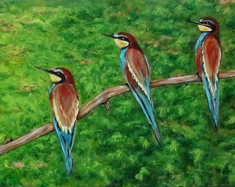 The Bee Eaters {birds}