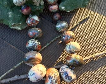 OOAK handmade JACKSON HOLE necklace by  designer Susan Ray