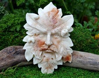 Green Man soap  - Seasons - winter solstice gift