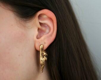 Angelico   Golden WildGrass Earrings