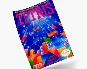 Tetris NES Print