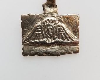 Ethiopian Angel pendant, silver pendant, Angel pendant, Ethiopian tribal pendant, Ethiopian Coptic Cross