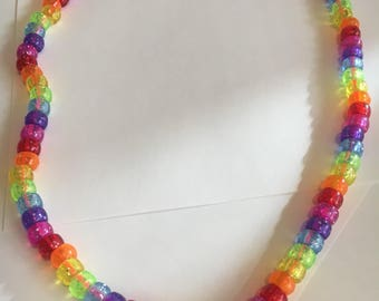 Isabel's Rainbow Necklace For Girls/Kids' Jewelry/Play Jewelry/Dress Up Jewelry/Make Believe Jewelry