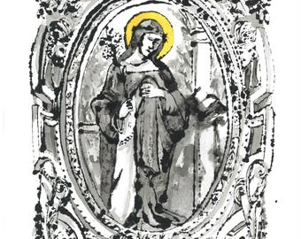 St. Rose - Print Only