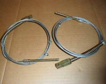 Two Mini Hand Break Cable