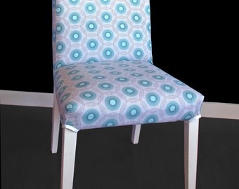 Blue Dots HENRIKSDAL Dining Chair Cover