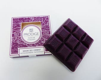 9 square melting wax scented magic of the Orient woodsy Notes Gnana manufacture Grasse perfume made French made in FRANCE