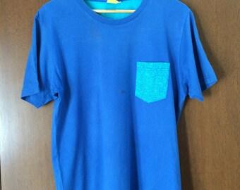FREE SHIPPING !! Vintage 90's Keith Haring T-Shirt medium size