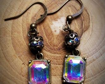 Aurora borialis earrings