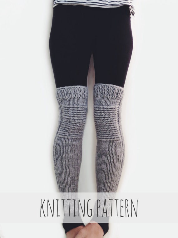 Pattern For Knit Leg Warmers Motorcycle Padded Quilted Leggings