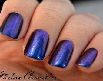 Bon Temps (Discontinuing) - Blue Red Purple Multichrome Color Shifting Nail Polish
