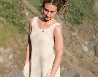 raw silk  khadi dress softness