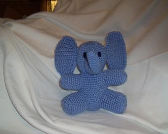 Bright Blue Elephant soft toy