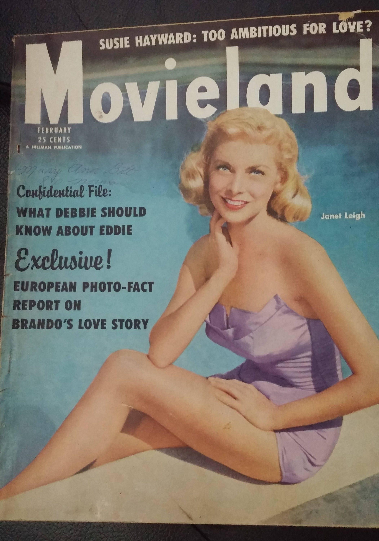 MovieLand Feb 1953 Janet Leigh