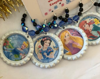 Disney Princess wine charms
