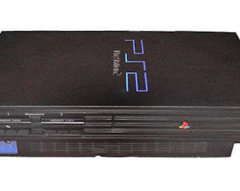 PS2 Playstation 2 FAT Console - Mod Chipped - Retro Gaming