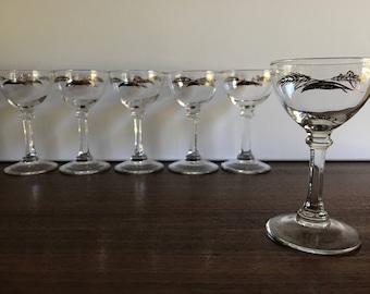 Gold Wheat Cordial, Liqueur Glasses - Set of 6