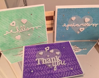 Set of Assorted Greeting Cards!
