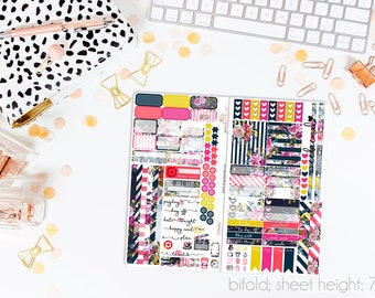 Whitney TN STANDARD Weekly Kit // 120+ Matte Planner Stickers // Perfect for your Standard Size Traveler's Notebook // TNS0660