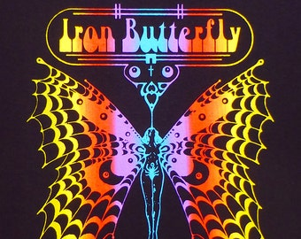 Iron Butterfly t shirt NEW S M L XL Gadda