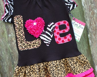 L-O-V-E is in the AIR Tunic/dress 2T to 6 ODOD