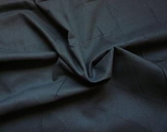 Voile cotton - black - 50 cm