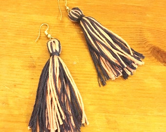 Pink and Purple tassels