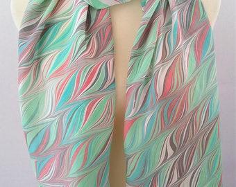 Silk Scarf Xtra Long Handpainted