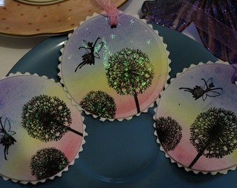 Fairy Wishes Tags - Set of 10 - Wedding-Fairytale Party