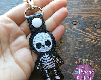 Skeleton Key Fob | Planner Charm